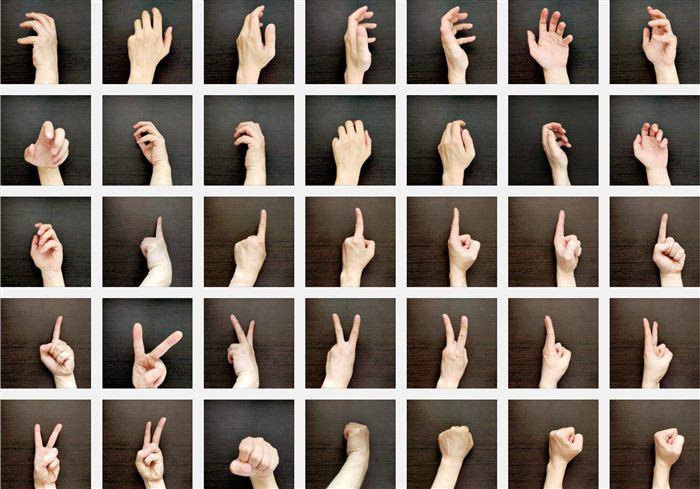 手の写真素材01