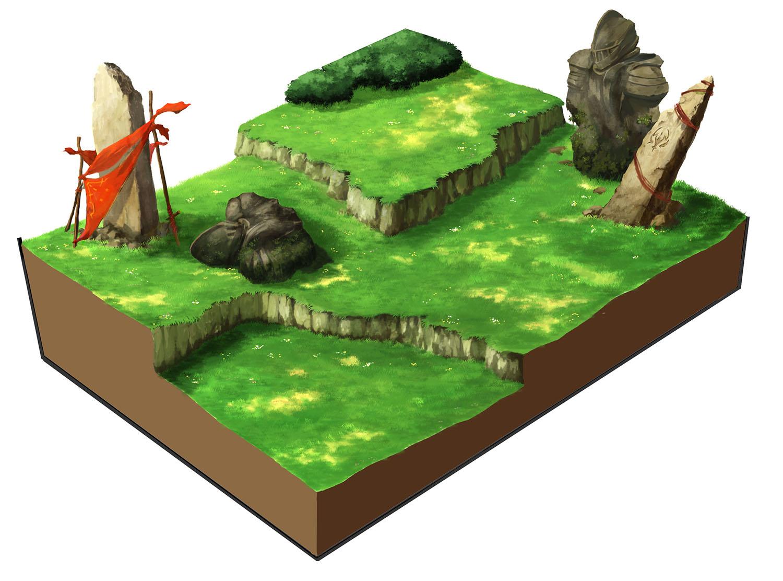 草原ステージデザイン