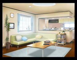 背景本室内の描き方