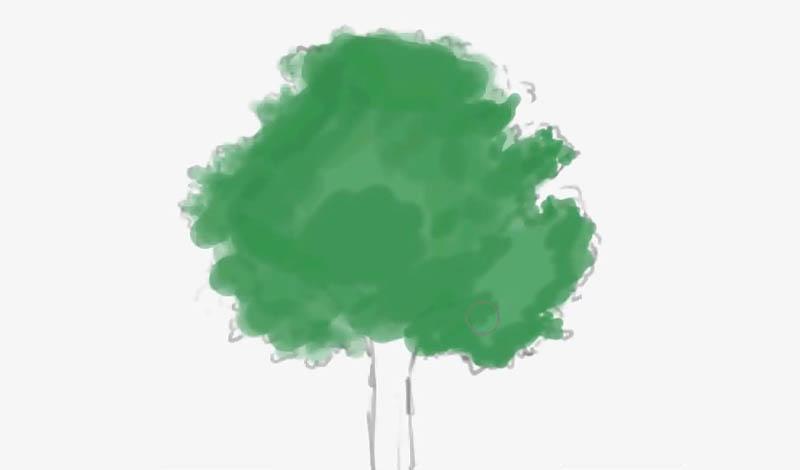 動画背景講座用の木1