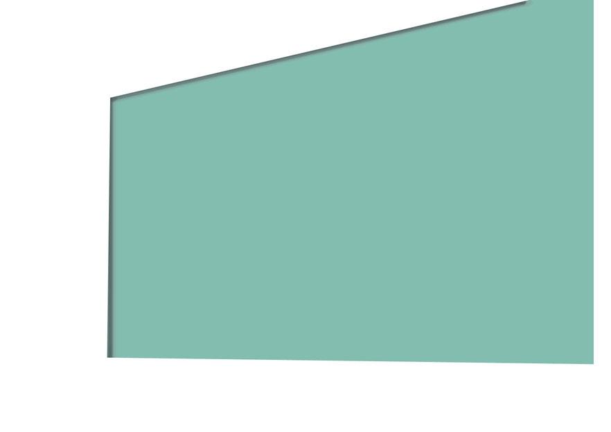 黒板のふちの影