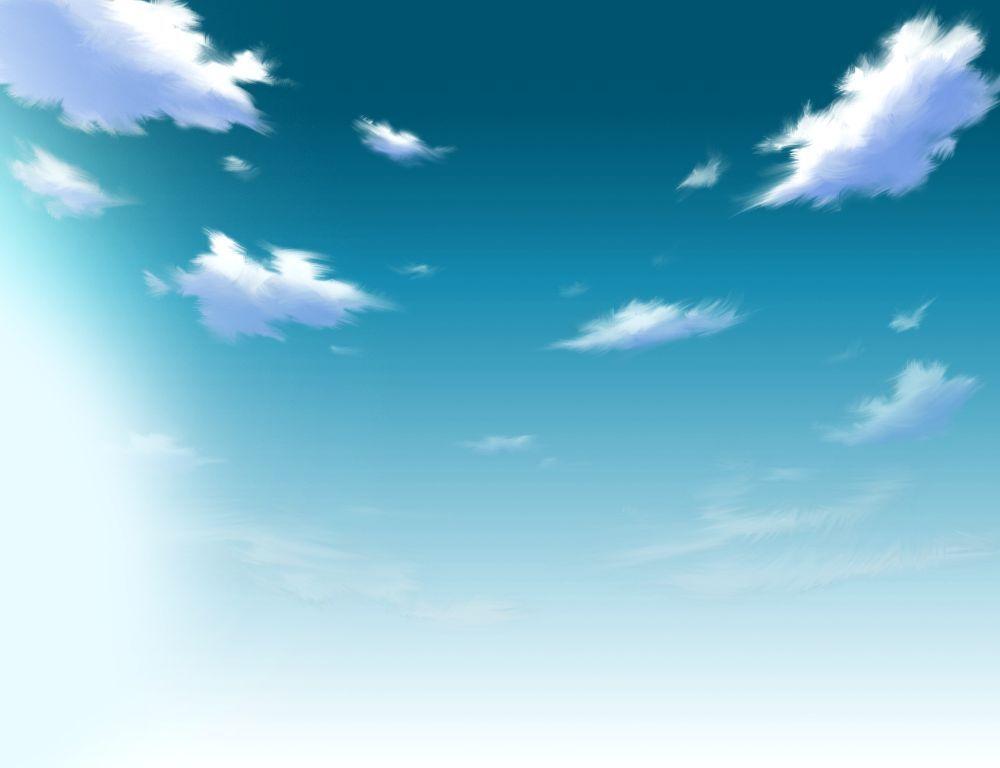 空の描き方