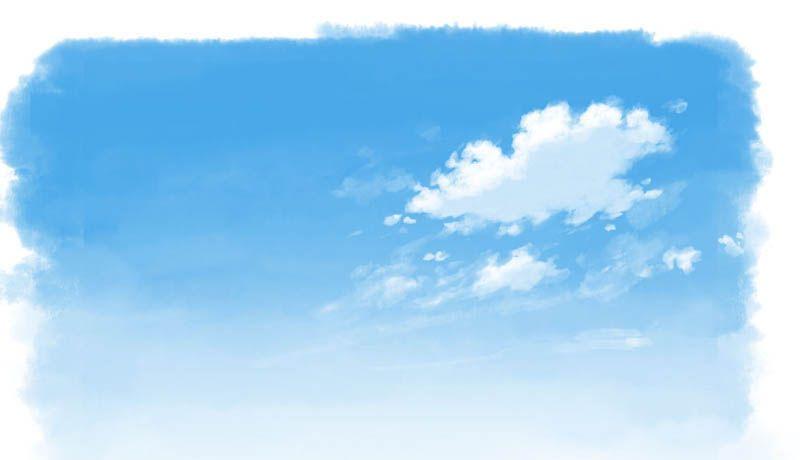 雲の描き方2