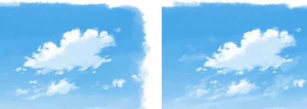 雲の描き方4