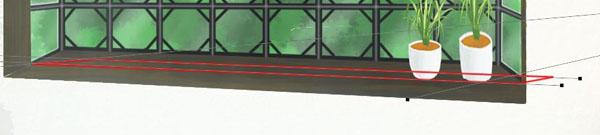 窓の修正前