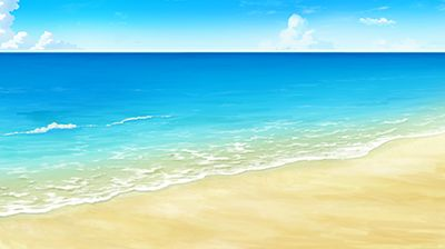 背景事典の海辺